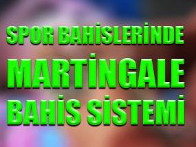 Spor Bahislerinde Martingale Bahis Sistemi