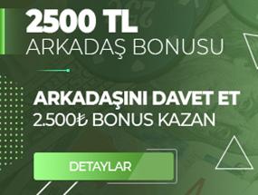 Tipobet 2500 TL Arkadaş Bonusu