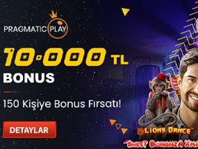 Tipobet 10.000 TL Bonus Veriyor