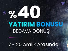 Tipobet %40 Slot Yatırım Bonusu